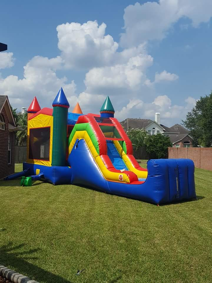 5 in 1 Crayon Bounce House