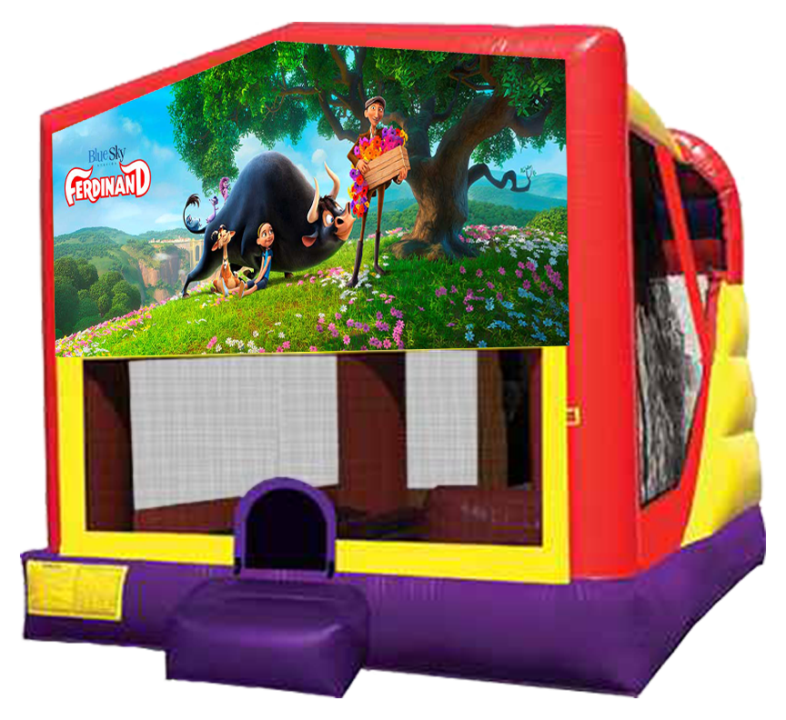 Ferdinand 4-in-1 Combo Rentals in Austin Texas from Austin Bounce House Rentals 512-765-6071