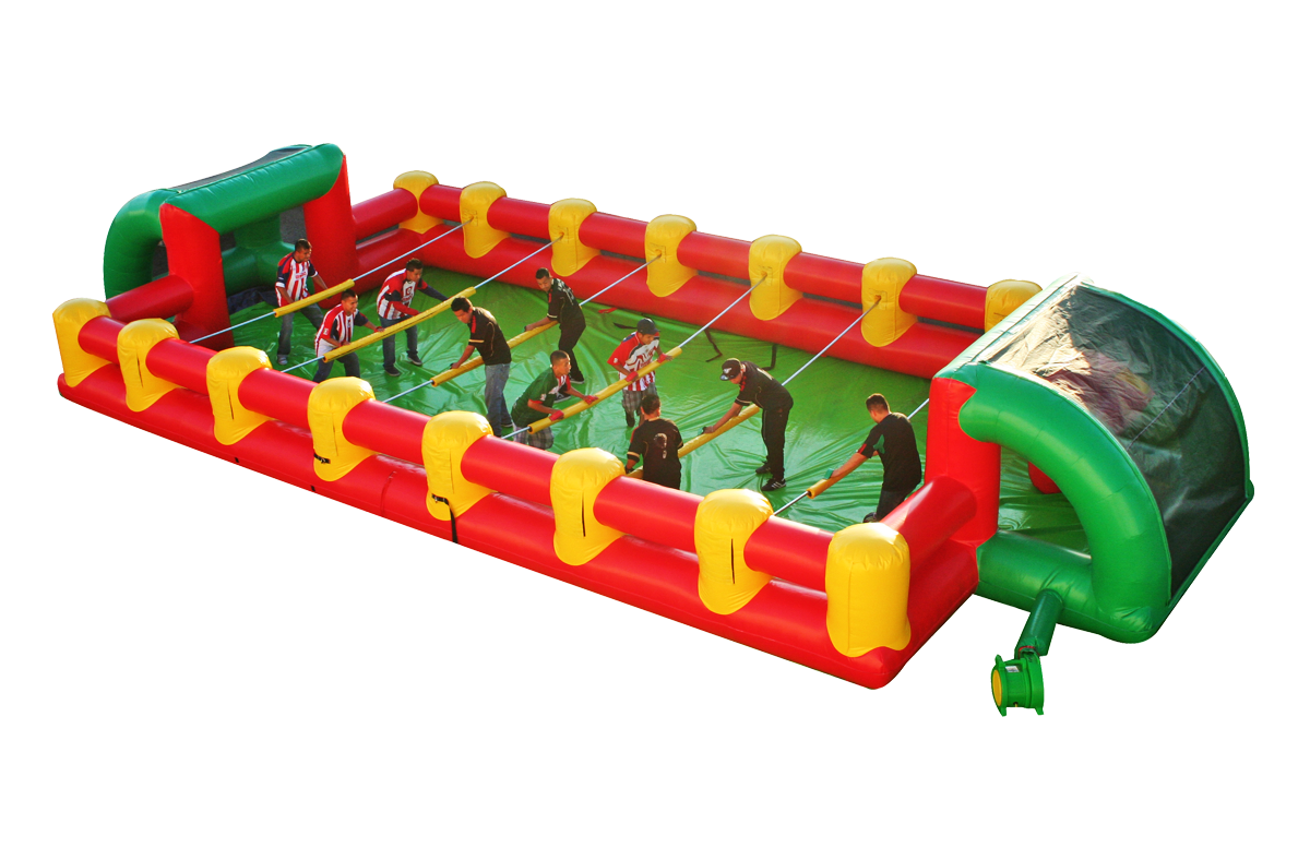 Foosball inflatable game
