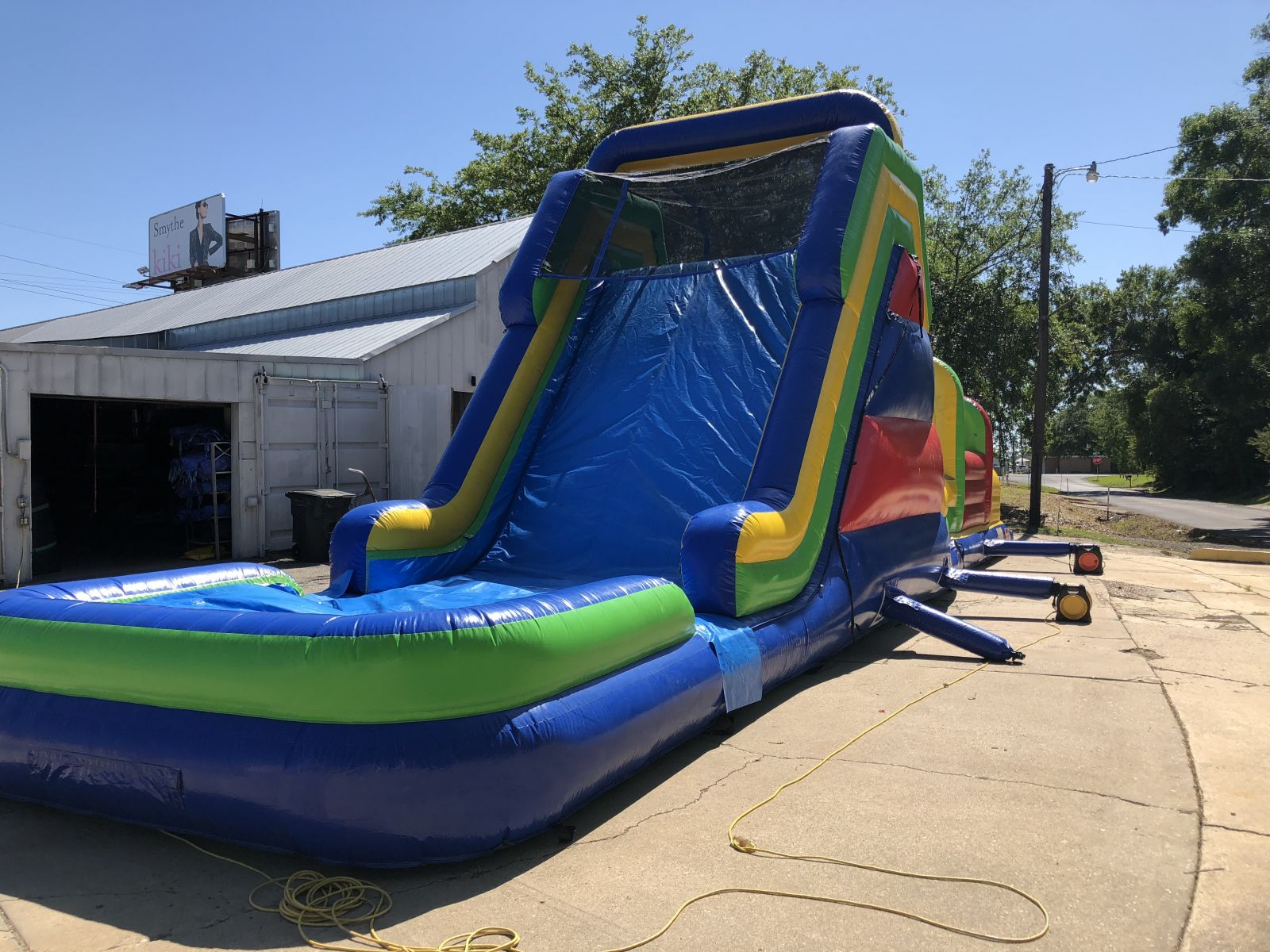 Water Slide Obstacle Course For Rent