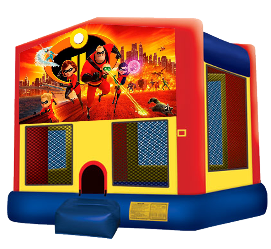 Incredibles 2 bounce house rentals in Austin Texas