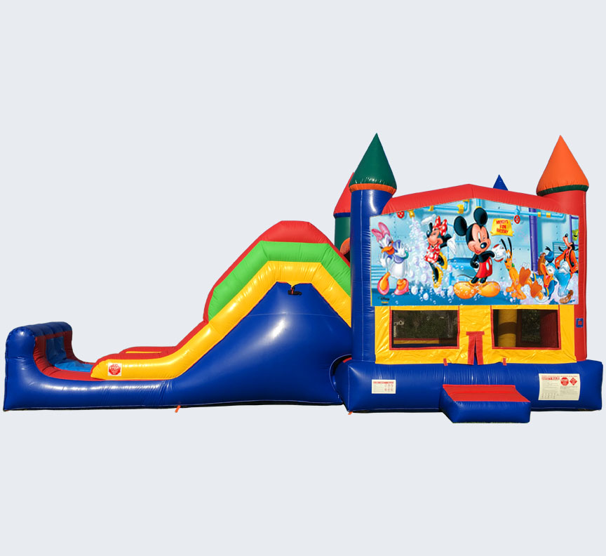 Mickey Mouse Super Combo 5-in-1 from Austin Bounce House Rentals