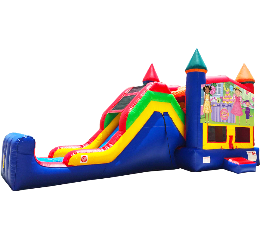 Pinkalicious Super Combo 5-in-1 from Austin Bounce House Rentals in Austin Texas
