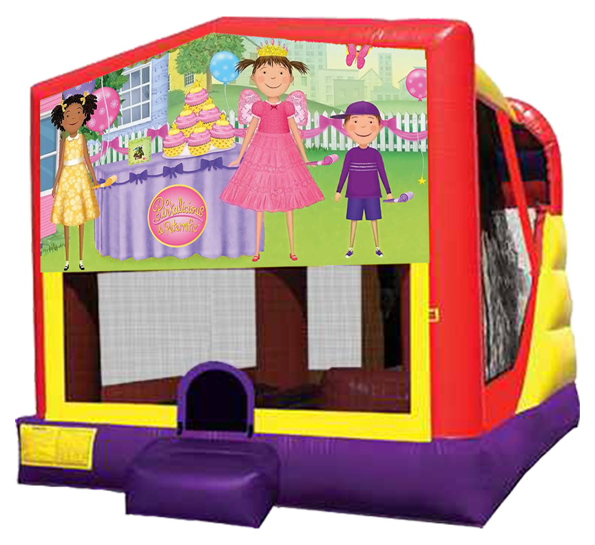 PInkalicous Party 4-in-1 Combo in Austin Texas from Austin Bounce House Rentals 512-765-6071
