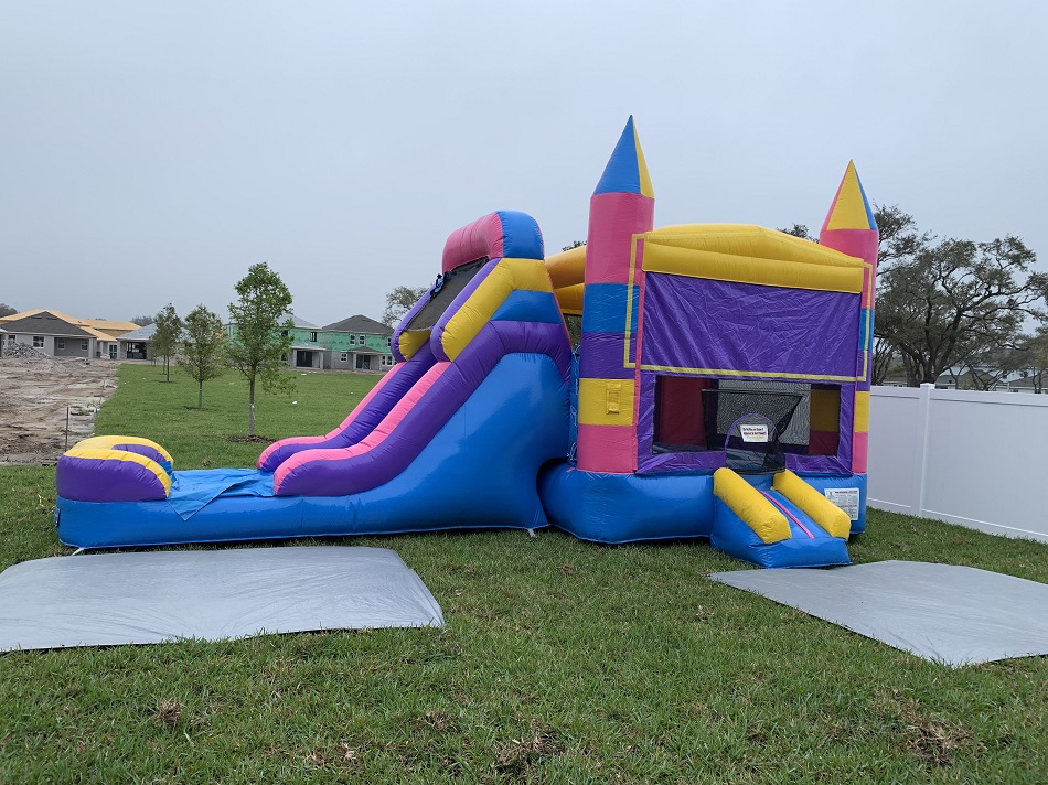 Princess Castle Combo Bounce House Rental