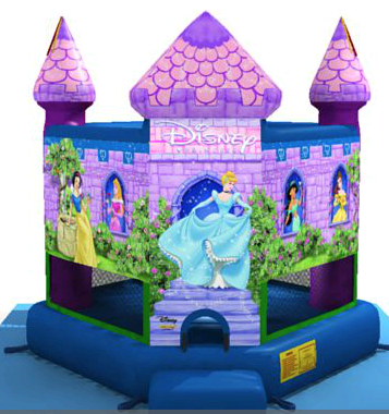 Disney Princess Bounce Front View