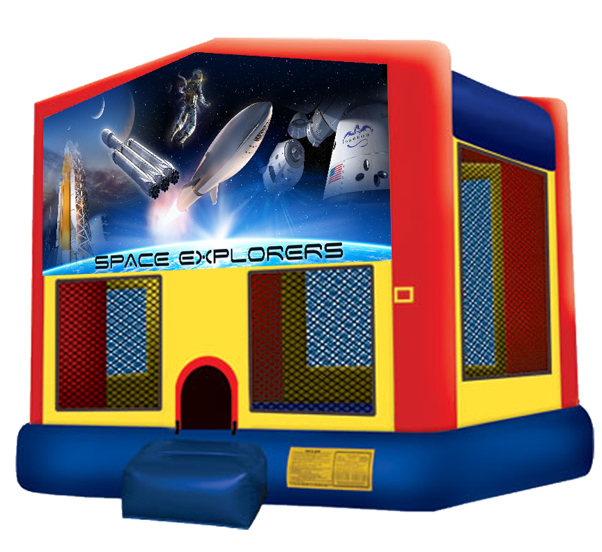 Space Explorers Bounce House Rentals in Austin Texas from Austin Bounce House Rentals