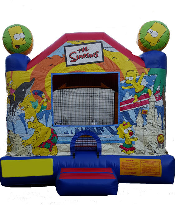 Simpson Bounce House