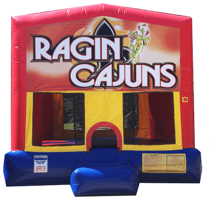 Ragin' Cajuns Fun Jump