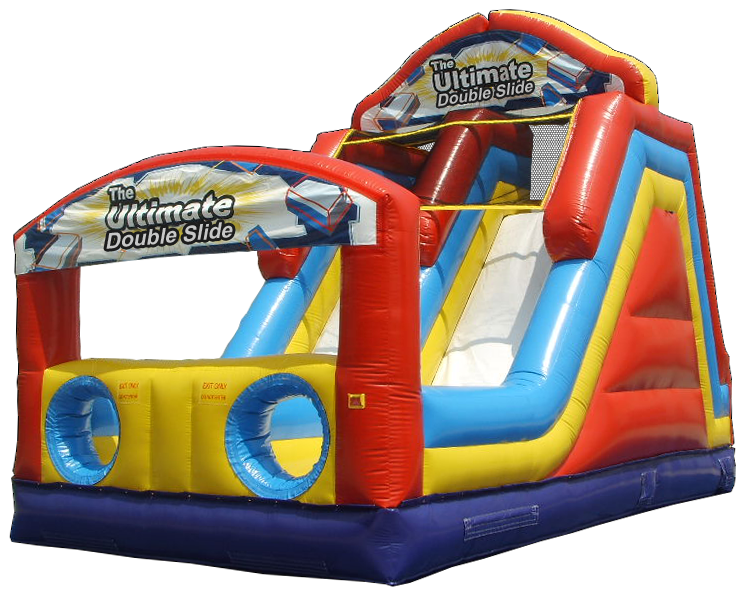 Ultimate Double Slide rental in Austin Texas from Austin Bounce House Rentals