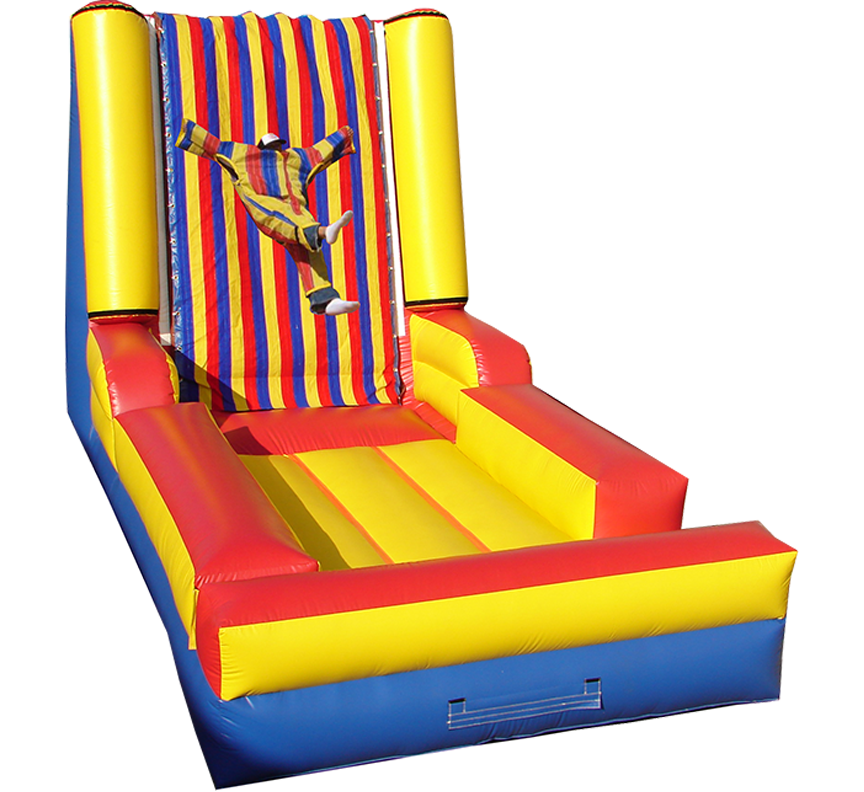 Velcro Wall rental for parties in Austin Texas from Austin Bounce House Rentals