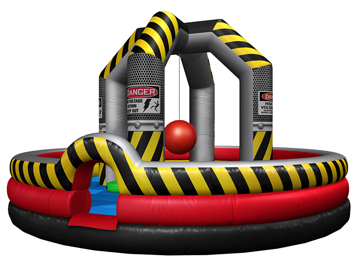 Wrecking Ball Inflatable rental for parties in Austin Texas from Austin Bounce House Rentals