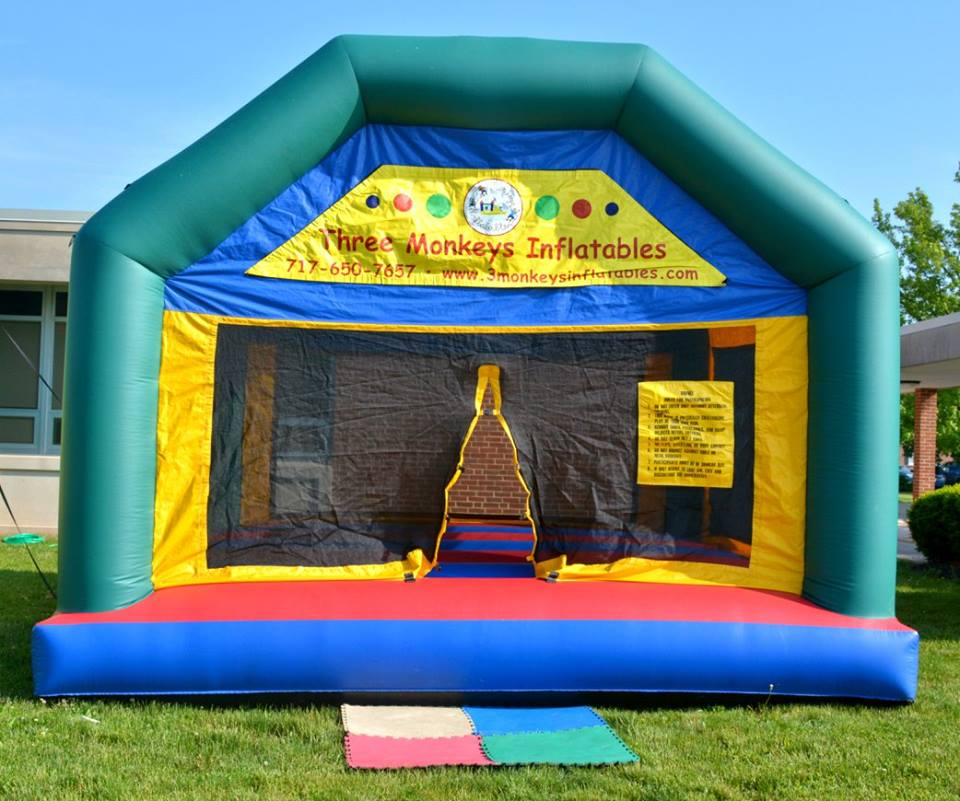 York Bounce House Rental front view
