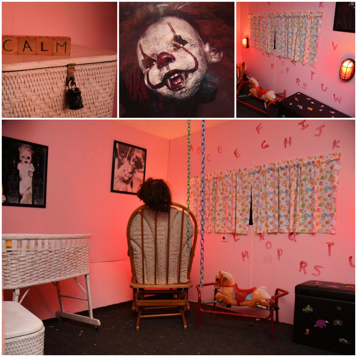 Creepy Nursery Mobile Escape Room
