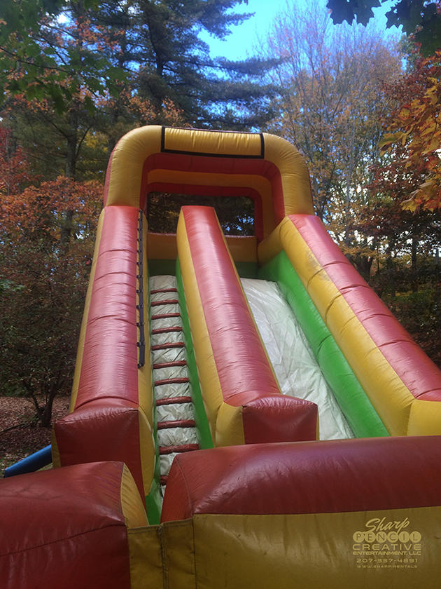 Super Inflatable dry slides Standish Maine Rentals