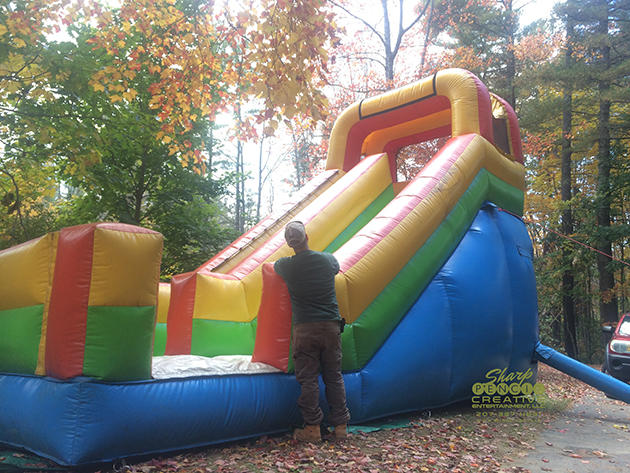 Water slides for rent in Standish Maine