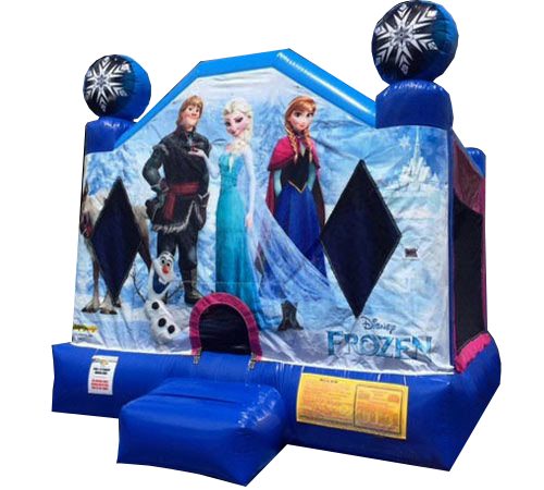Frozen Bounce House rental Nashville TN Jumping Hearts Party Rentals