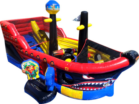 Lil Pirates Toddler Inflatable rentals in Austin Texas from Austin Bounce House Rentals