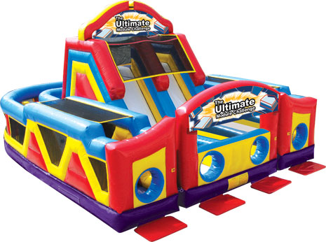 Ultimate Challenge Obstacle Course rental in Austin Texas from Austin Bounce House Rentals