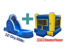 Bounce House & Slide Package  for $175