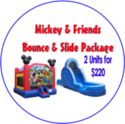 PACKAGE: Mickey Bounce & Slide Package