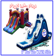 Package: High Tide Water Slide & DRY Sports Combo