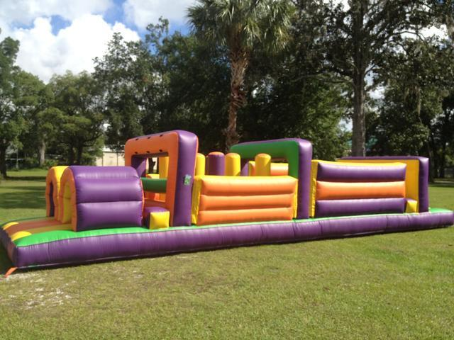 40ft Backyard Obstacle Course