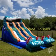 20ft Big Kahuna Slide Dual Lane
