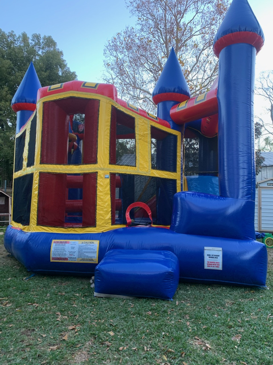 5in1 bounce house combo