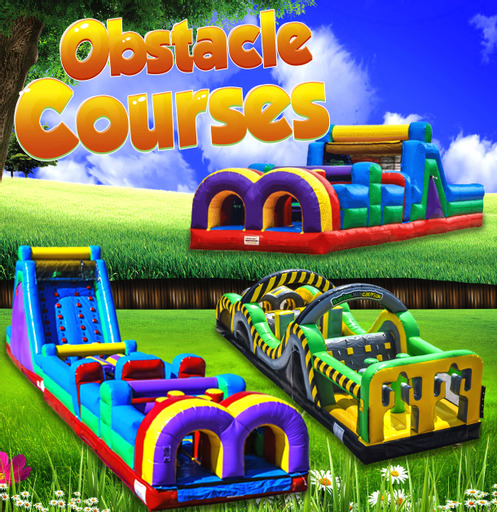Inflatable obstacle course rental