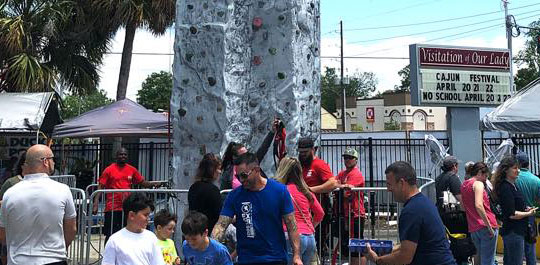 Rock Climbing Wall rental