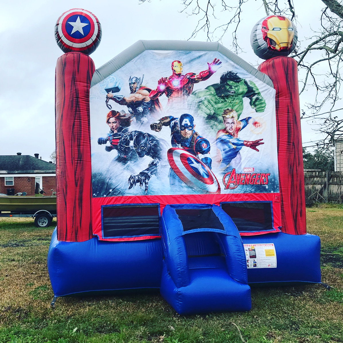 Avengers Bounce house rental