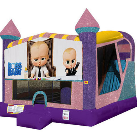 Boss Baby 4in1 combo bouncer pink