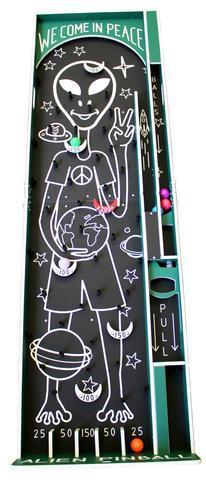 Alien Pinball Carnival Game Rental