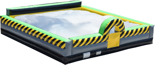Image result for toxic inflatable foam pit