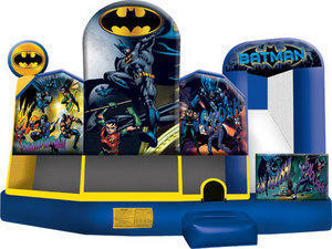 Batman 5in1 Inflatable Bounce House Combo