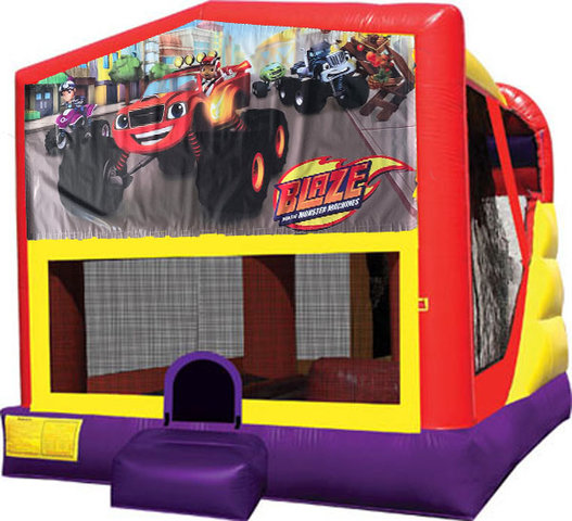 Blaze 4in1 Inflatable Bounce House Combo