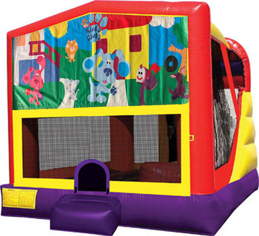 Blues Clues 4in1 Inflatable Bounce House Combo