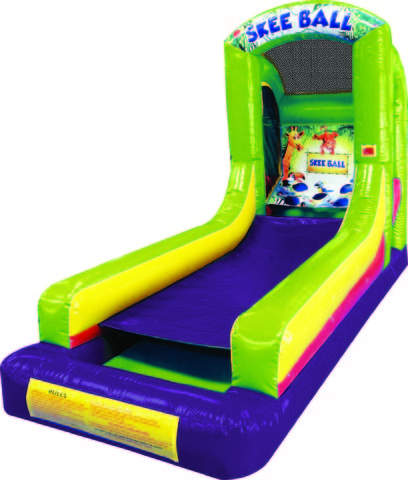 Inflatable Skee Ball Carnival Game Rental