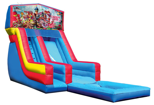 Candyland water slide