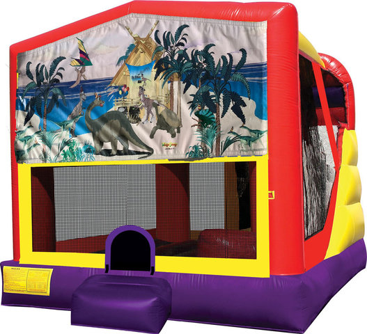 Dinosaurs 4in1 Inflatable Bounce House Combo