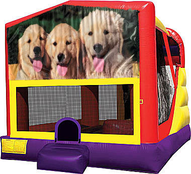 Dogs 4in1 Inflatable Bounce House Combo