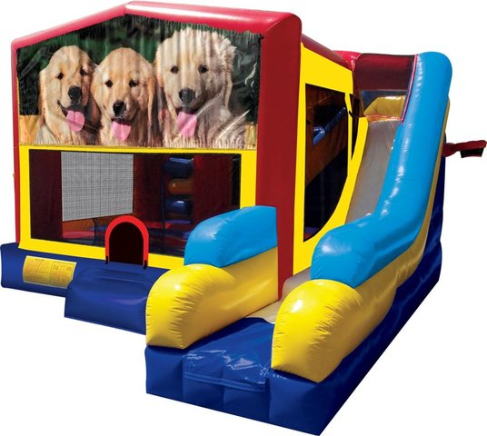Dogs Inflatable Combo 7in1