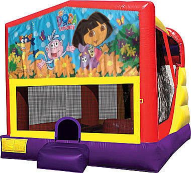 Dora 4in1 Inflatable Bounce House Combo