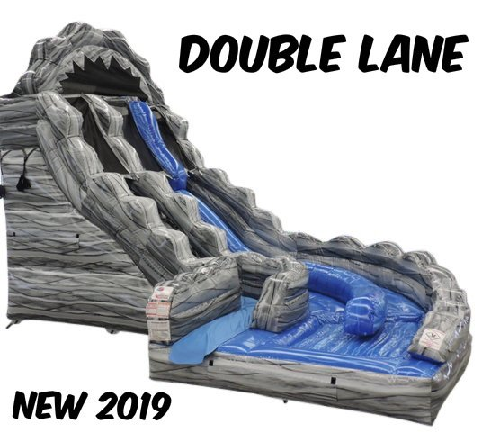 18 Ft. Wild Rapids double lane Water Slide