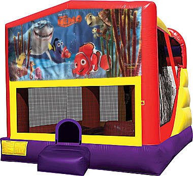 Finding Nemo 4in1 Inflatable Bounce House Combo