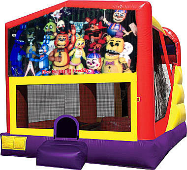Five Nights of Freddy 4in1 Inflatable Bounce House Combo