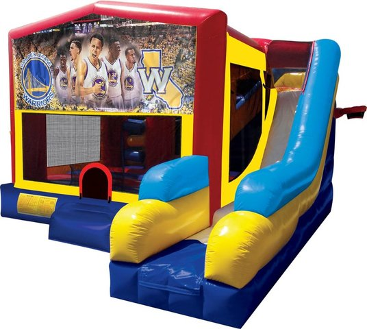 Golden State Warriors Inflatable Combo 7in1