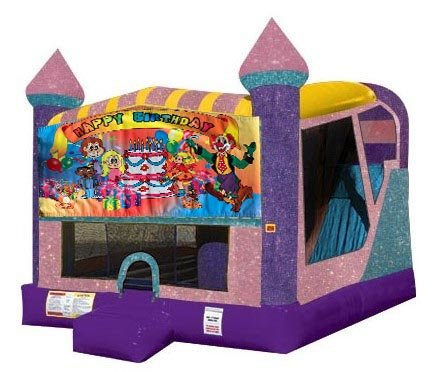 Happy Birthday Kids 4n1 Combo Bouncer (Pink)