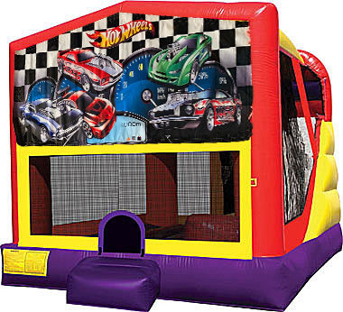 Hot Wheels 4in1 Inflatable Bounce House Combo